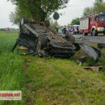 Niebezpieczny wypadek na Korytnicy – cztery osoby ranne