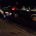 Kolizja 3 samochodów na Korytnicy