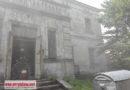 Pożar plebanii w Sulejowie