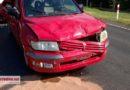 Wypadek w Poniatowie. 5 osób rannych