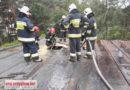 Włodzimierzów: Pożar poddasza