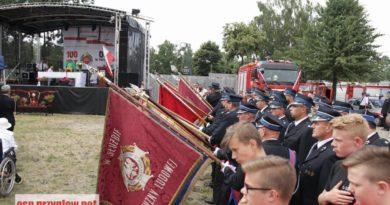 100-lecie OSP w Przygłowie. Strażacy świętowali!
