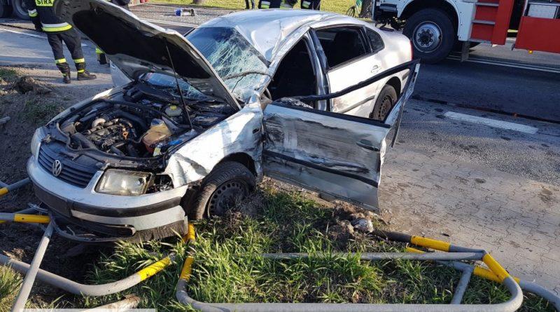 Wypadek w Korytnicy na DK 12. Jedna osoba poszkodowana!