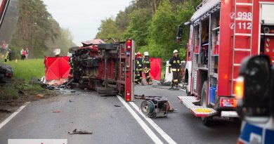 Tragiczny wypadek na DK 12. Nie żyją dwie osoby.