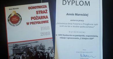 XXVI Konkurs na pamiętniki, wspomnienia, relacje i opracowania z dziejów OSP