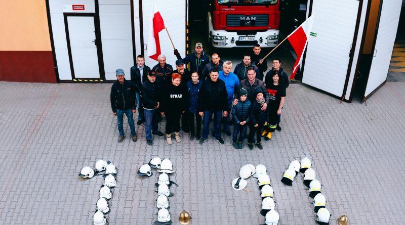 Przygłowscy strażacy uczcili Święto Niepodległości