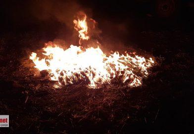 Podlubień: straż wezwana do pożaru, którym okazało się być ognisko.