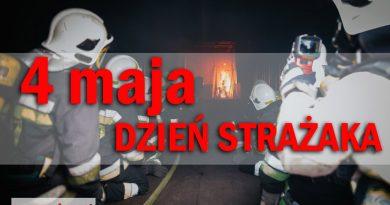 4 maja – Międzynarodowy Dzień Strażaka