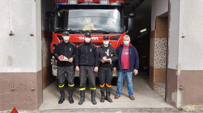 Strażacy oddali krew dla Helenki. Zbiórka w OSP Błogie!